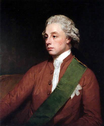 George Romney - Frederick V., Earl of Carlisle
