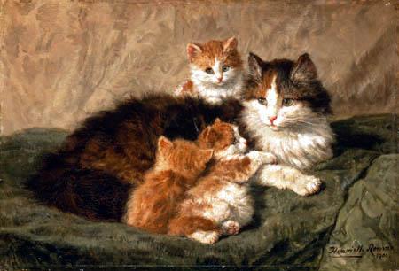 Henriëtte Ronner-Knip - Cats