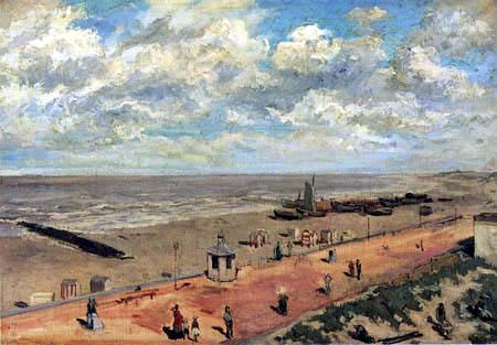 Félicien Joseph Victor Rops - Der Strand