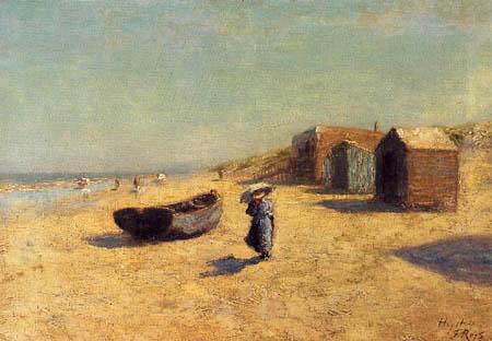 Félicien Joseph Victor Rops - Der Strand von Heyst