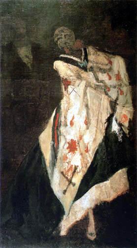Félicien Joseph Victor Rops - Der Tod auf dem Ball