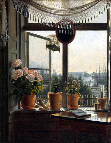 Martinus Rørbye - View from the Artist´s Window