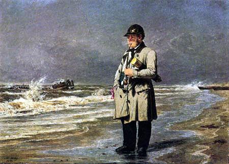 Martinus Rørbye - A stranding commissioner in Jutland
