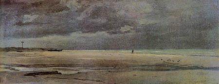 Martinus Rørbye - Beach near Blokhus