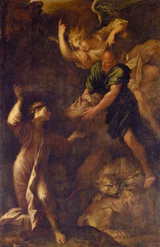 Salvator(e) Rosa - Daniel en la fosa de los leones