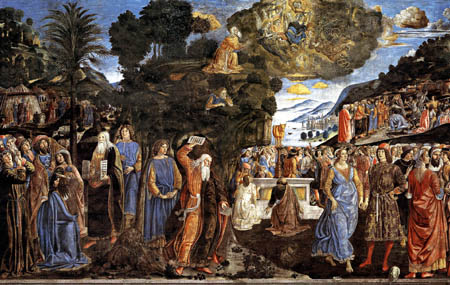 Cosimo Roselli - From the life of Moses