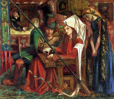 Dante Gabriel Rossetti - Die Melodie