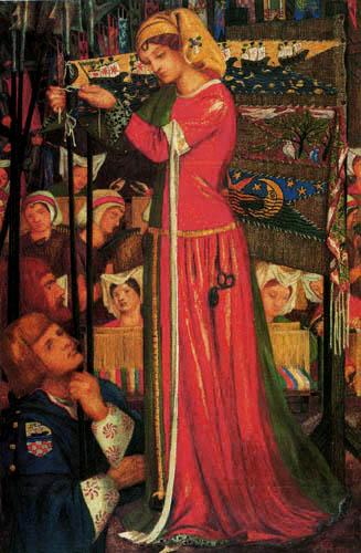 Dante Gabriel Rossetti - Vor der Schlacht