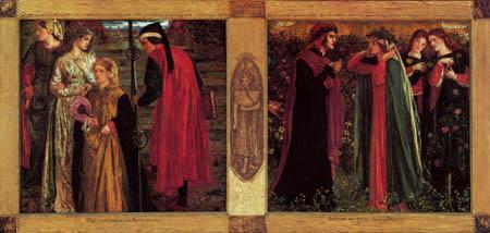 Dante Gabriel Rossetti - Salutatio Beatricis