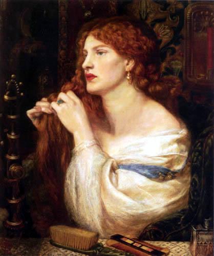 Dante Gabriel Rossetti - Fazio´s Mistress