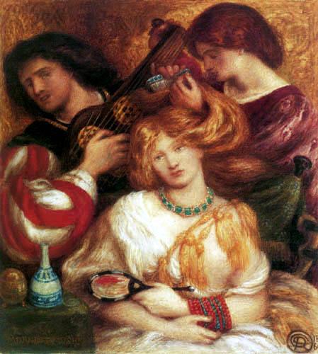 Dante Gabriel Rossetti - Morgendliche Musik