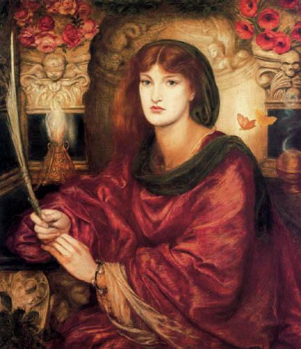 Dante Gabriel Rossetti - Sibylla Palmifera
