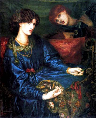 Dante Gabriel Rossetti - Mariana