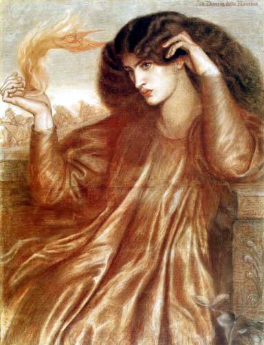 Dante Gabriel Rossetti - La Donna della Fiamma