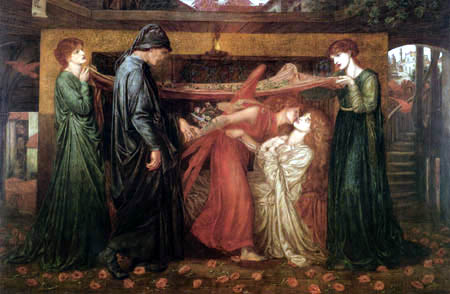 Dante Gabriel Rossetti - Dantes Traum