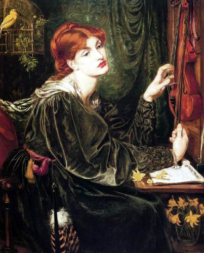 Dante Gabriel Rossetti - Veronica Veronese
