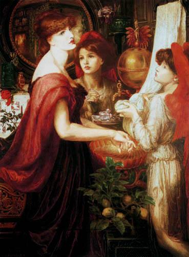 Dante Gabriel Rossetti - Schöne Hände