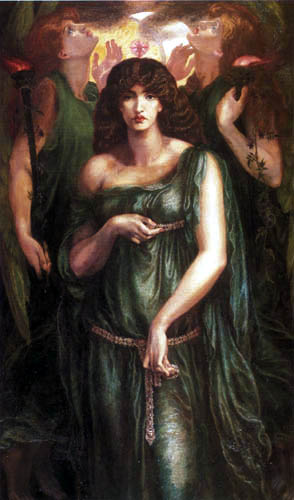 Dante Gabriel Rossetti - Astarte Syriaca
