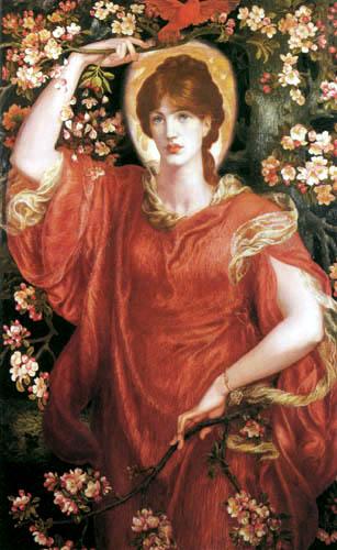 Dante Gabriel Rossetti - Vision of Fiammetta