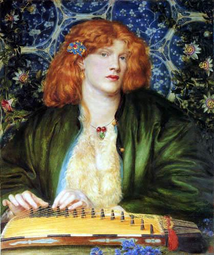 Dante Gabriel Rossetti - Das blaue Boudoir