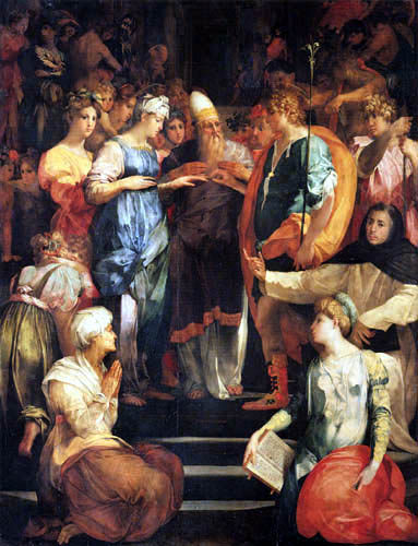 Fiorentino Rosso - The Marriage of the Virgin