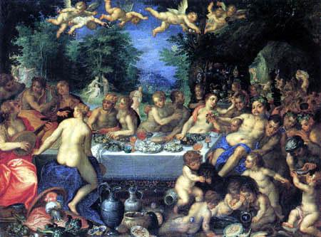 Hans Rottenhammer - Die Hochzeit von Peleus und Thetis