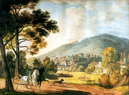 Carl Anton J. Rottmann - Baden-Baden