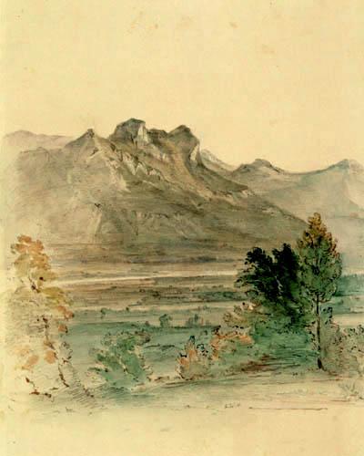 Carl Anton J. Rottmann - Inntal mit Heuberg