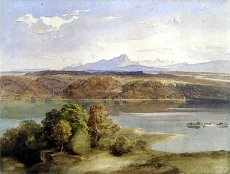 Carl Anton J. Rottmann - Starnberger Sea