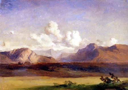 Carl Anton J. Rottmann - Landscape in Upper Bavaria
