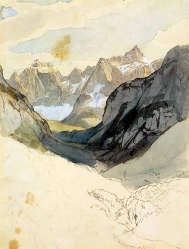 Carl Anton J. Rottmann - Die Zugspitze