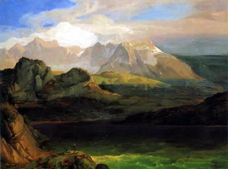 Carl Anton J. Rottmann - Eibsee