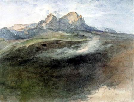 Carl Anton J. Rottmann - Schlern bei Bozen