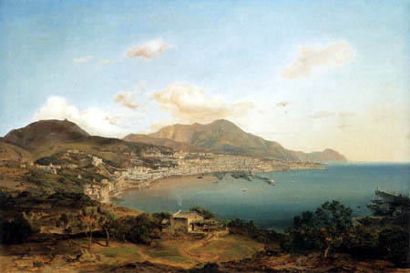 Carl Anton J. Rottmann - View of Genua