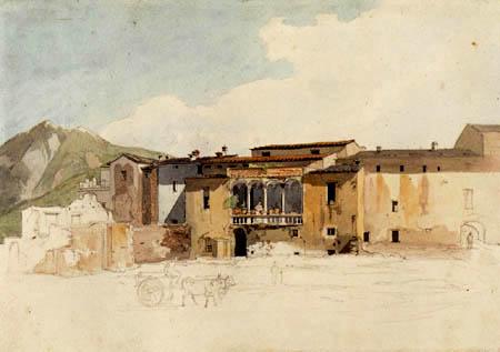 Carl Anton J. Rottmann - Houses in Marino-Alban Hills