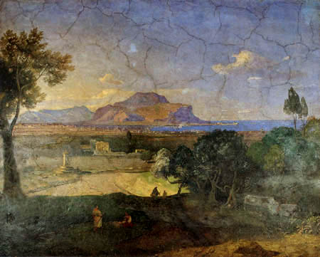Carl Anton J. Rottmann - View of Palermo