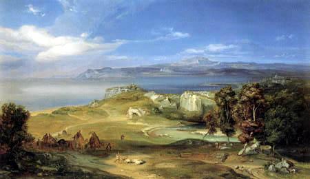 Carl Anton J. Rottmann - The Straits of Messina