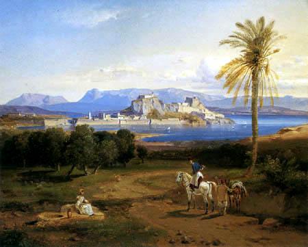 Carl Anton J. Rottmann - Korfu
