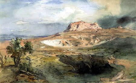 Carl Anton J. Rottmann - Korinth von Westen