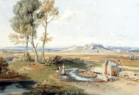 Carl Anton J. Rottmann - View of Athens