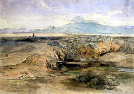 Carl Anton J. Rottmann - Athens- well Kallirhoe