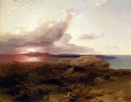 Carl Anton J. Rottmann - Aegina - Temple of Apollon