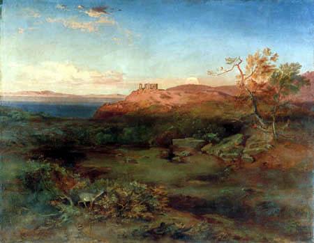 Carl Anton J. Rottmann - Aegina - Temple of Aphaea