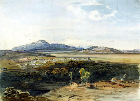 Carl Anton J. Rottmann - View of Theben