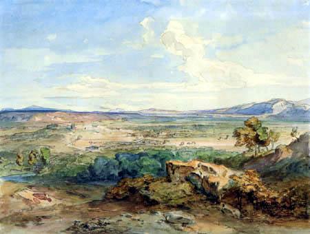 Carl Anton J. Rottmann - The plane, Sparta