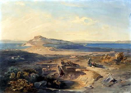 Carl Anton J. Rottmann - Delos, Greece