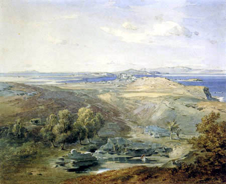 Carl Anton J. Rottmann - Waterhole in Naxos