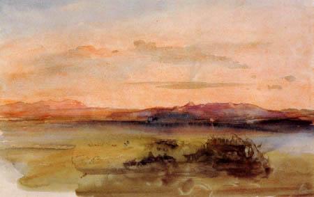 Carl Anton J. Rottmann - Sunset