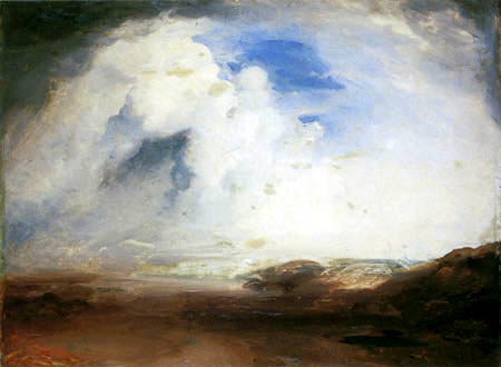 Carl Anton J. Rottmann - Study of clouds