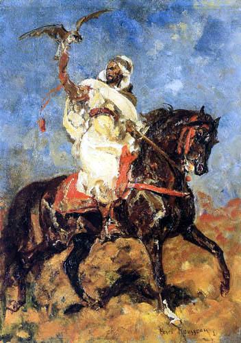 Henri Emilien Rousseau - Arabian falconer